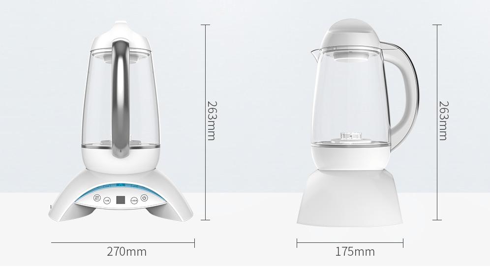 h2 wellness кувшин генератор водородной воды, магнитная вода, омагничивание воды - 12