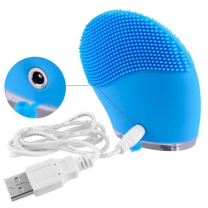 силиконовая щетка Power, power-blue-cleansing-brush-3