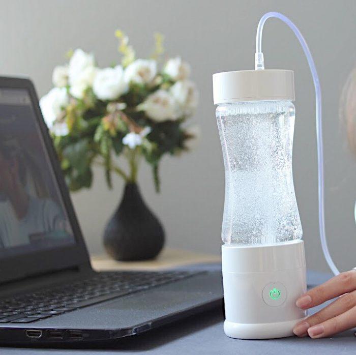 nozzle for hydrogen inhalation