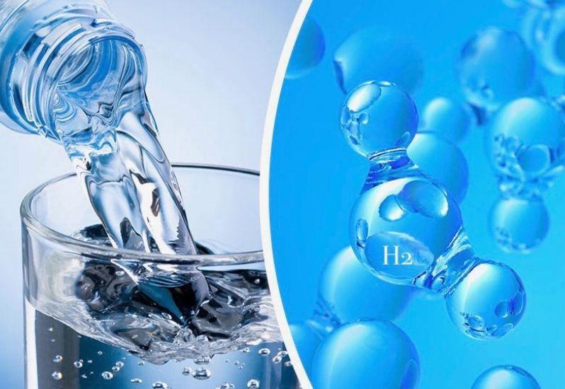 что такое водородная вода, зачем пить водородную воду, польза водородной воды