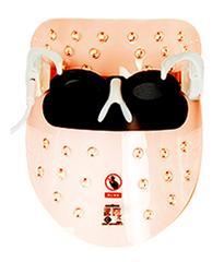 лицо для фотодинамической терапии оранжевый свет, LED-маска